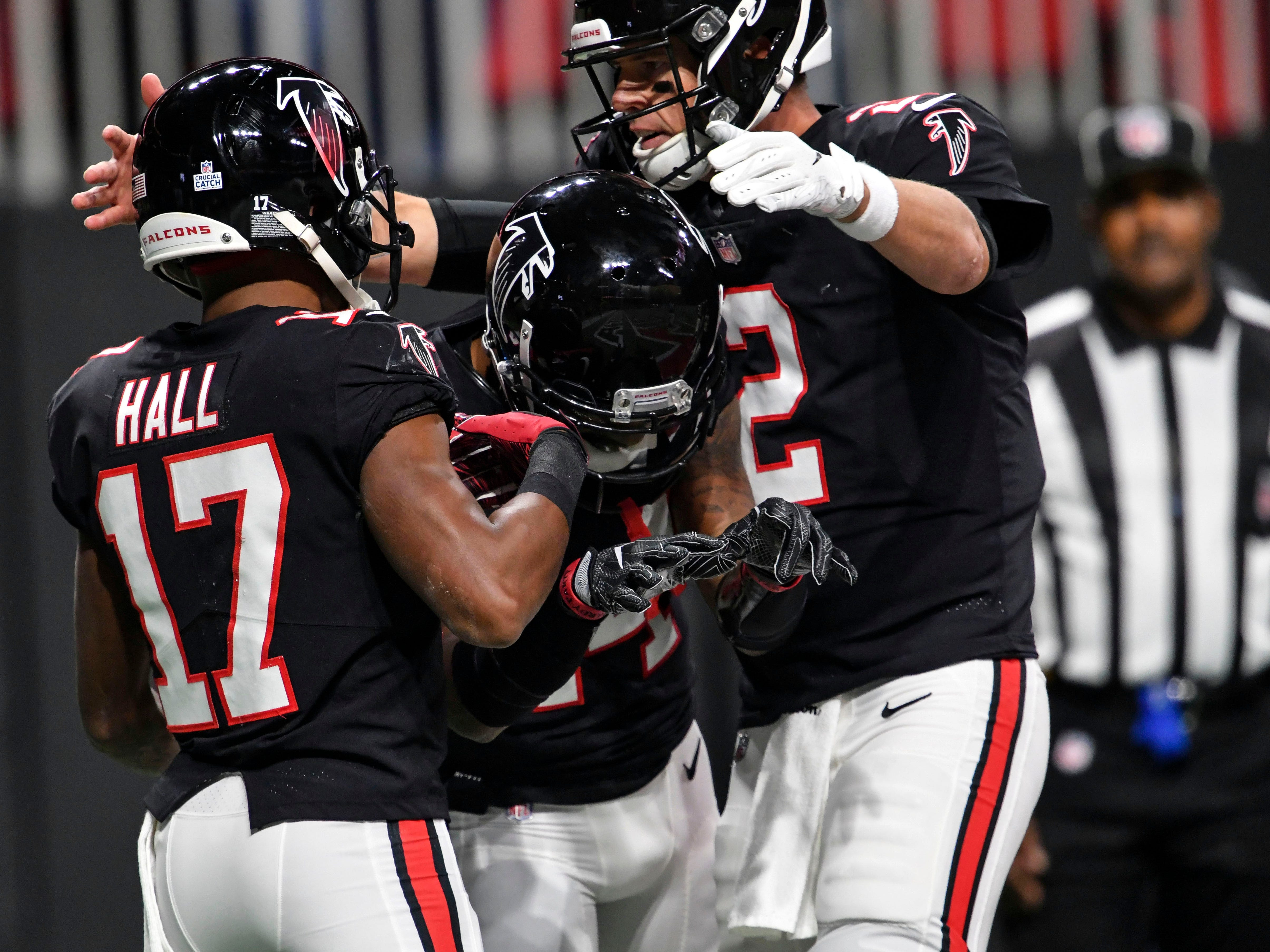 14. Falcons (16): Perhaps no team needed bye more than this one. Atlanta gets chance to heal a bit but must play six of nine on road on other side of break.