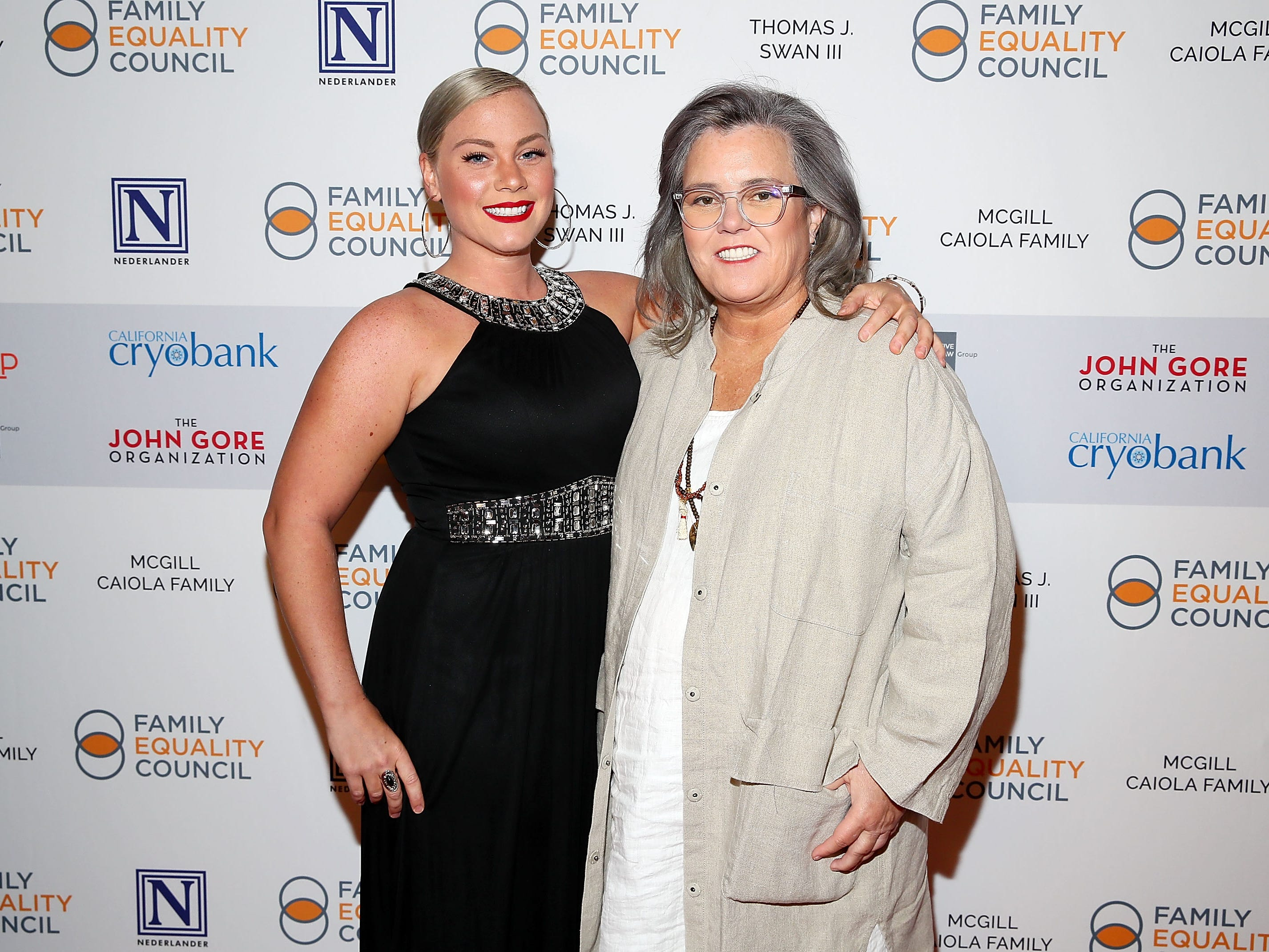 Meet Rosie O'Donnell's new fiancee, 33-year-old police officer Elizabeth Rooney