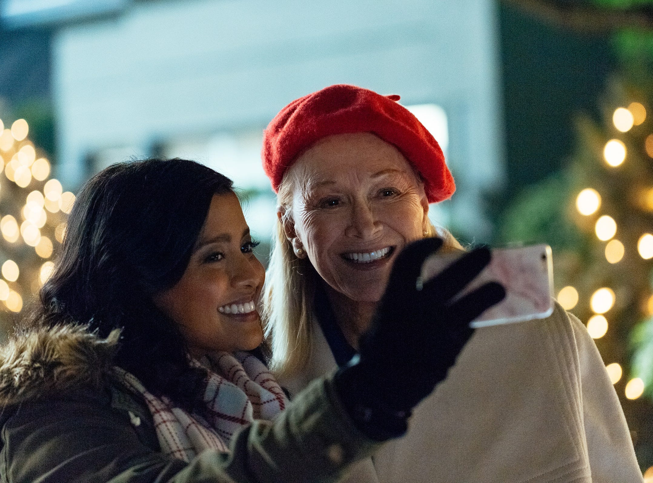 """""""Christmas Lost and Found"""" (Lifetime, Dec. 7, 8 EST/PST): Event planner Whitney Kennison (Tiya Sircar) accidentally throws out a box of ornaments and her grandmother Frances (Diane Ladd) helps her find it."""