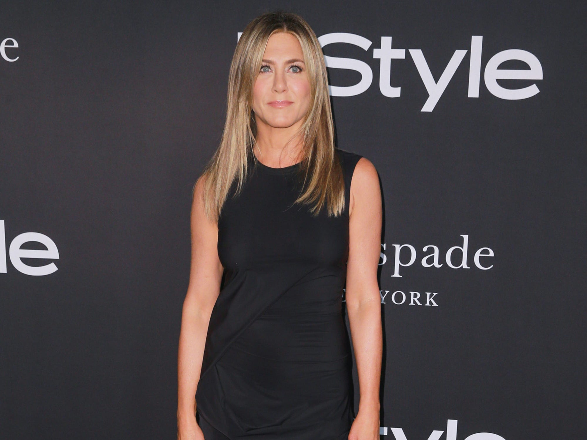 LOS ANGELES, CA - OCTOBER 22:  Jennifer Aniston attends the 2018 InStyle Awards at The Getty Center on October 22, 2018 in Los Angeles, California.  (Photo by Rich Fury/Getty Images) ORG XMIT: 775236597 ORIG FILE ID: 1052792872