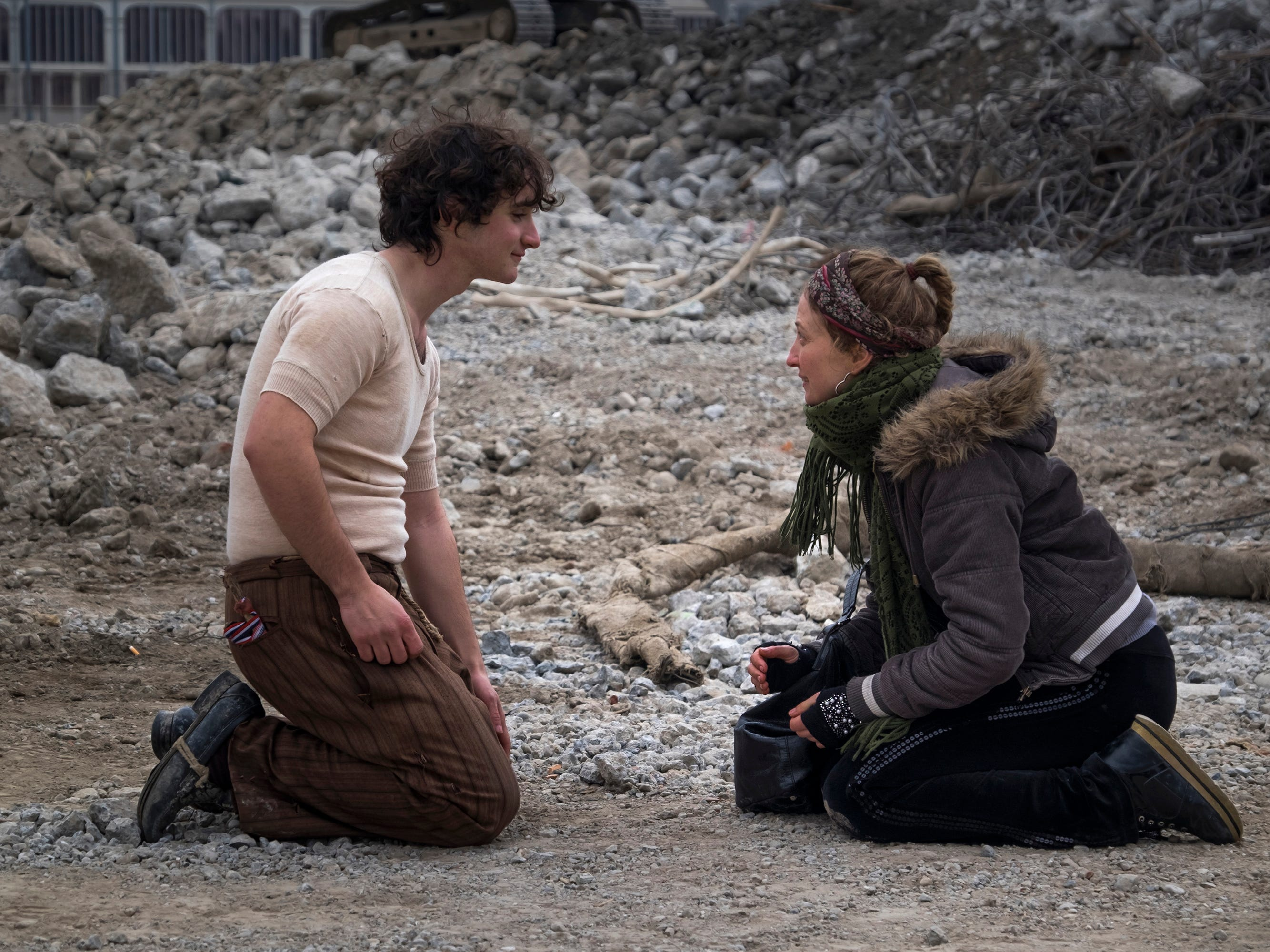 "Adriano Tardiolo (left) is a teenage peasant who's asked by a young nobleman to orchestrate his own kidnapping in the Italian fable ""Happy as Lazzaro."""