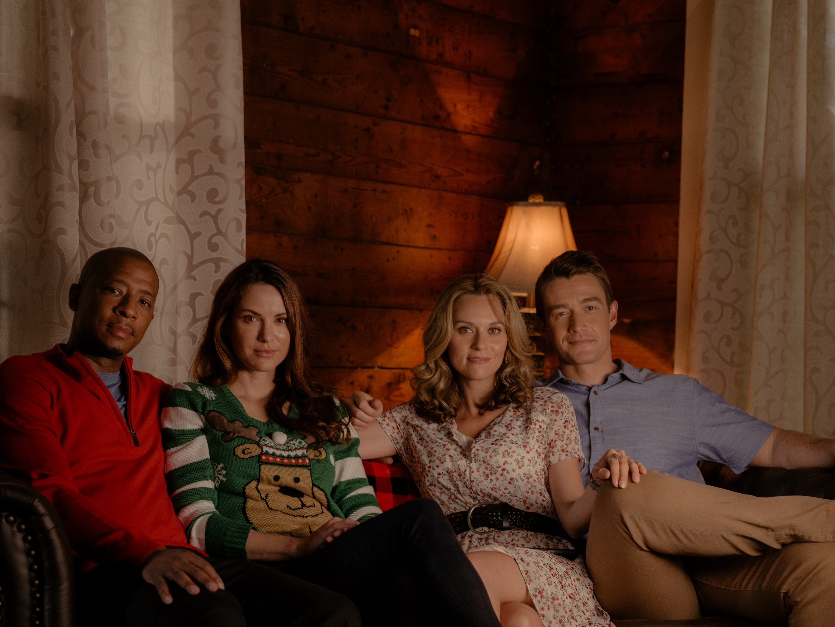"""""""The Christmas Contract"""" (Lifetime, Nov. 22, 8 EST/PST): Starring """"One Tree Hill alums Antwon Tanner, Danneel Ackles, Hilarie Burton and Robert Buckley, the movie follows Jolie (Burton) who asks Jack (Buckley) to be her fake boyfriend when she goes home for Christmas."""