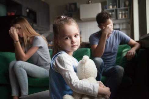 "When parents get divorced, one of the biggest concerns is often ""How is this going to affect my child?"""
