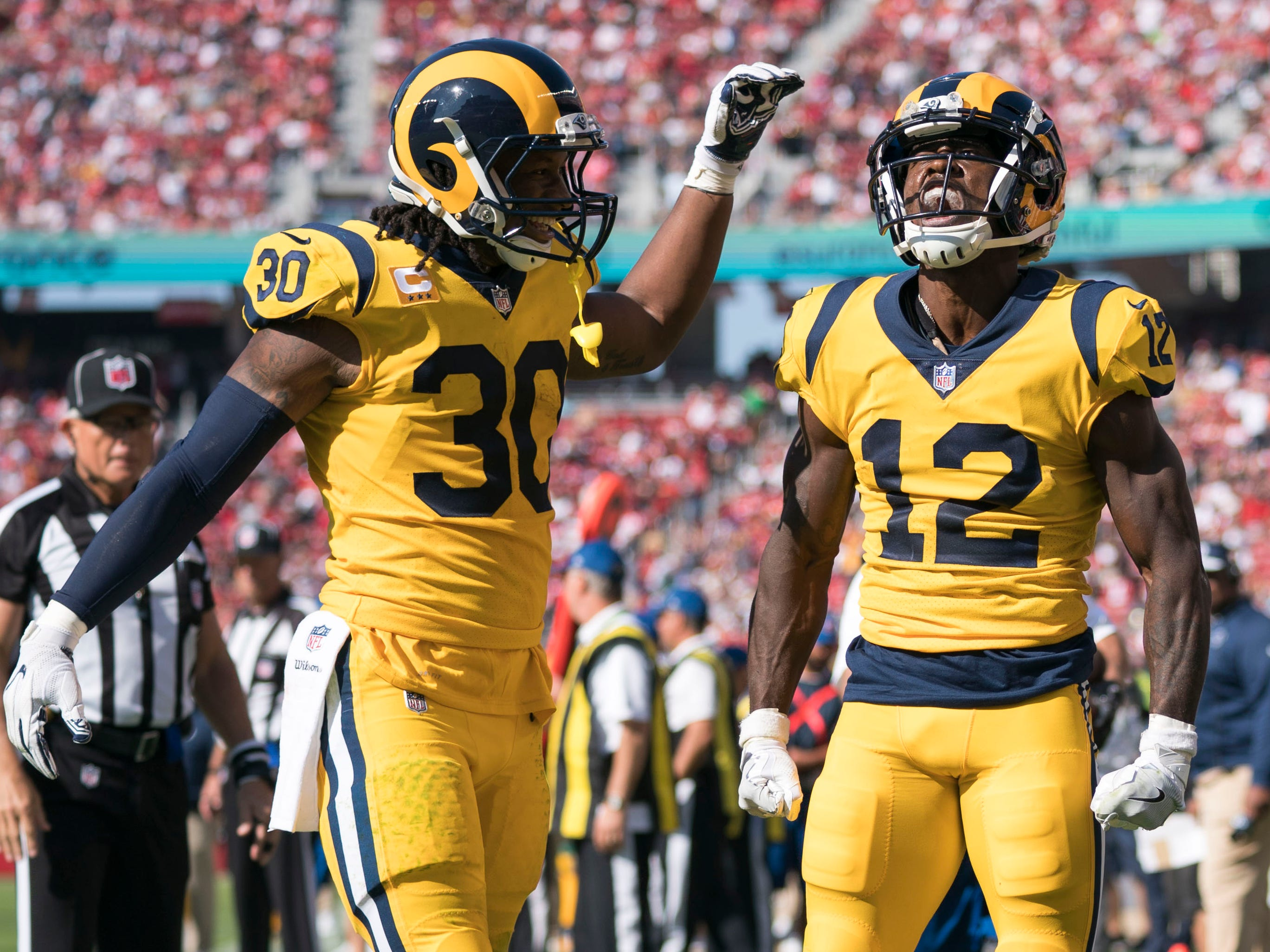 1. Rams (1): They may not have that 'x' next to their name for clinching playoff berth, but all 24 teams starting 7-0 since 1990 have reached postseason.