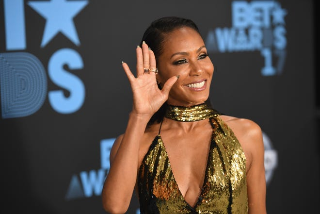 LOS ANGELES, CA - JUNE 25:  Jada Pinkett Smith at the 2017 BET Awards at Staples Center on June 25, 2017 in Los Angeles, California.  (Photo by Paras Griffin/Getty Images for BET) ORG XMIT: 700070971 ORIG FILE ID: 800831054