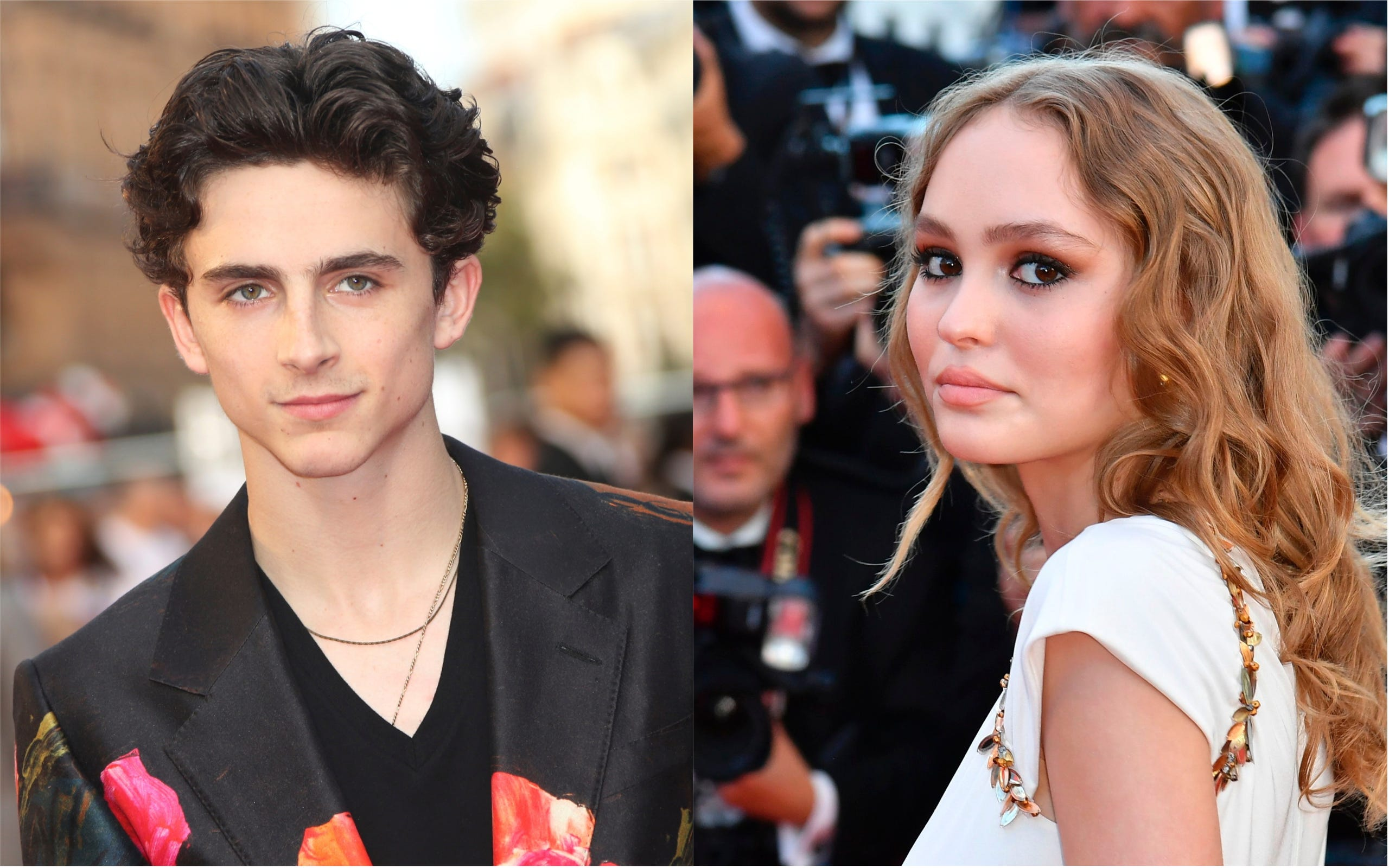 Johnny Depp S Daughter Lily Rose Spotted Kissing Timothee Chalamet