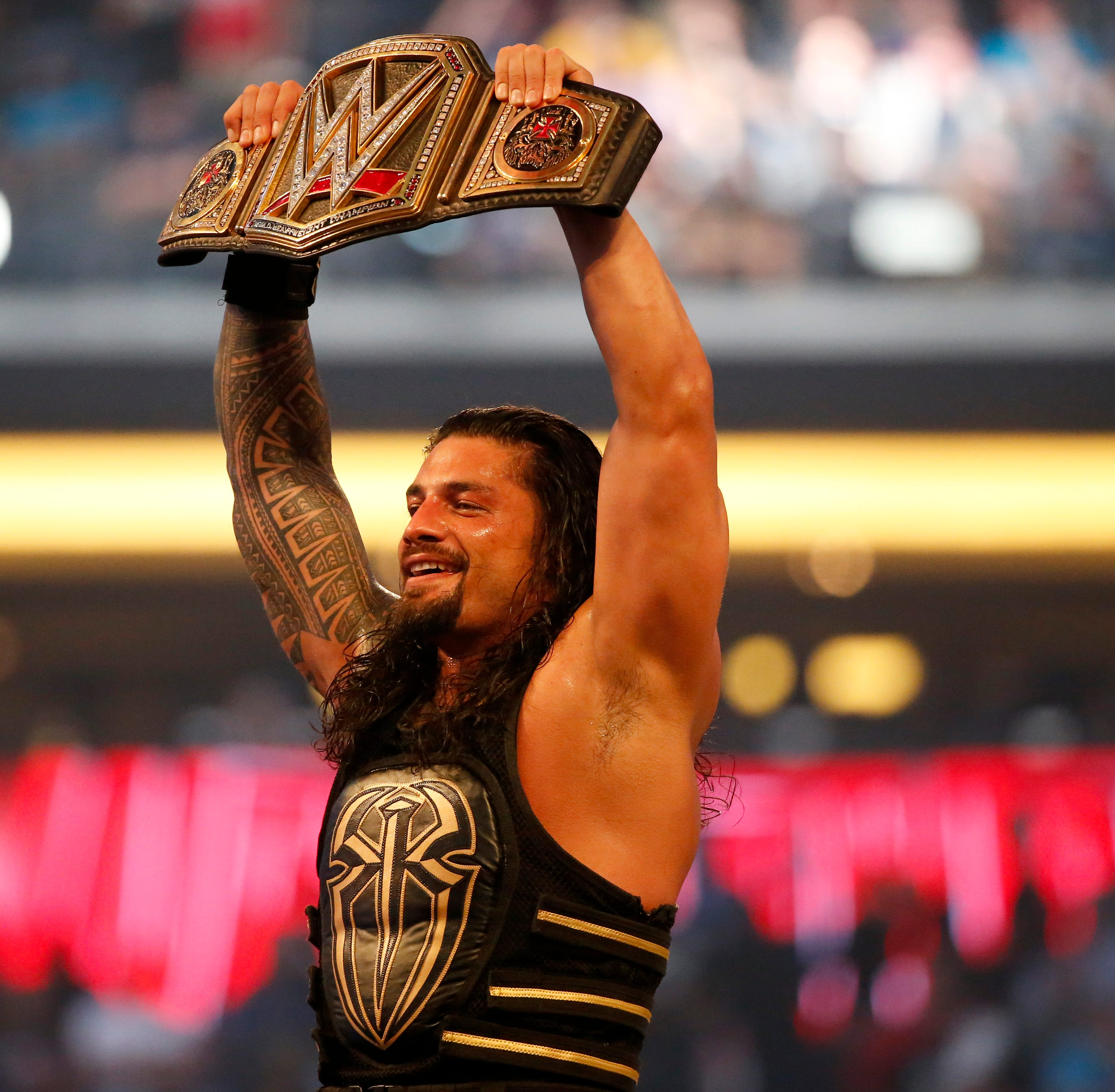 WWE star Roman Reigns reveals he's battling leukemia again