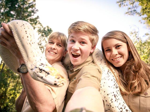Crikey Steve Irwins Kids Honor Dad With New Animal Planet Show