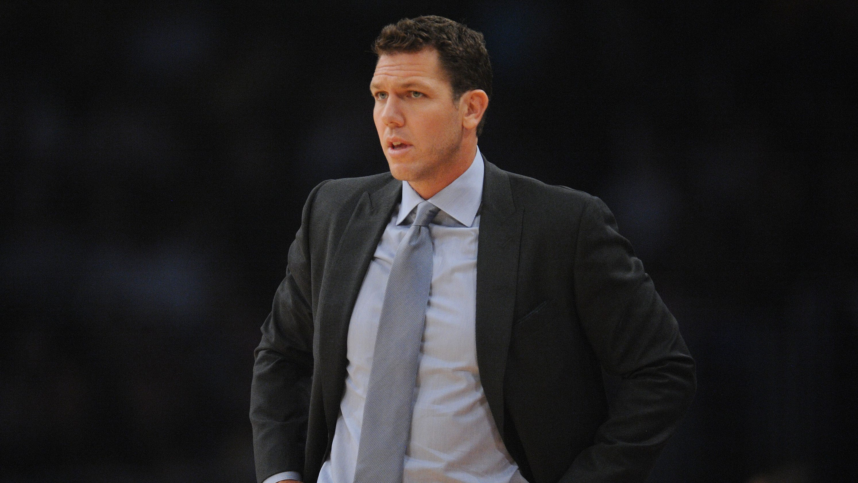 bedc119d7 Lakers  Coach Luke Walton sounds off on inconsistent officiating