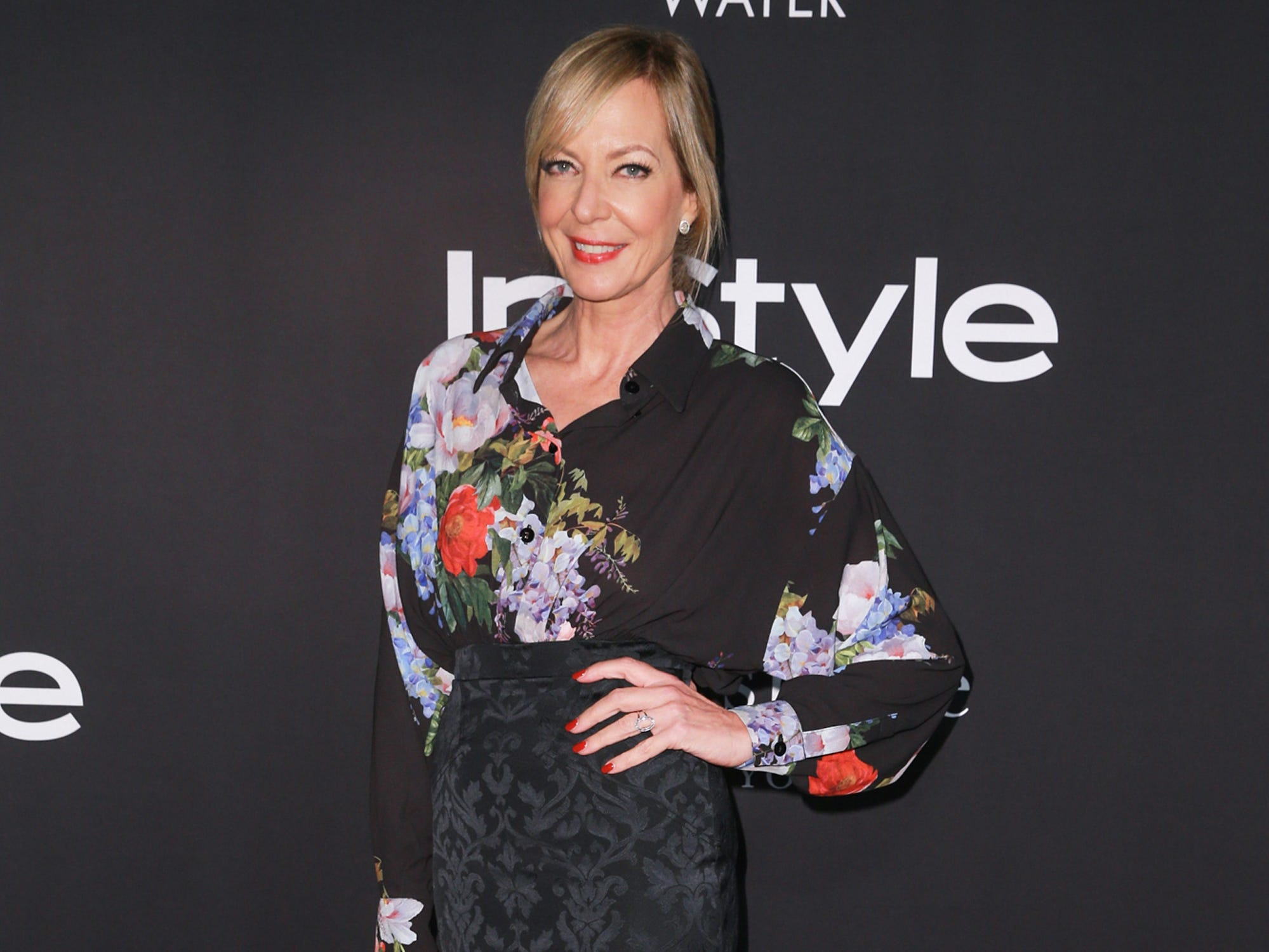 LOS ANGELES, CA - OCTOBER 22:  Allison Janney attends the 2018 InStyle Awards at The Getty Center on October 22, 2018 in Los Angeles, California.  (Photo by Rich Fury/Getty Images) ORG XMIT: 775236597 ORIG FILE ID: 1052793272