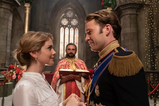 """A Christmas Prince: The Royal Wedding"" (Netflix, Nov. 30): As they prepare for their wedding, Amber (Rose McIver) begins to second-guess herself while Richard (Ben Lamb) has to deal with a political crisis."