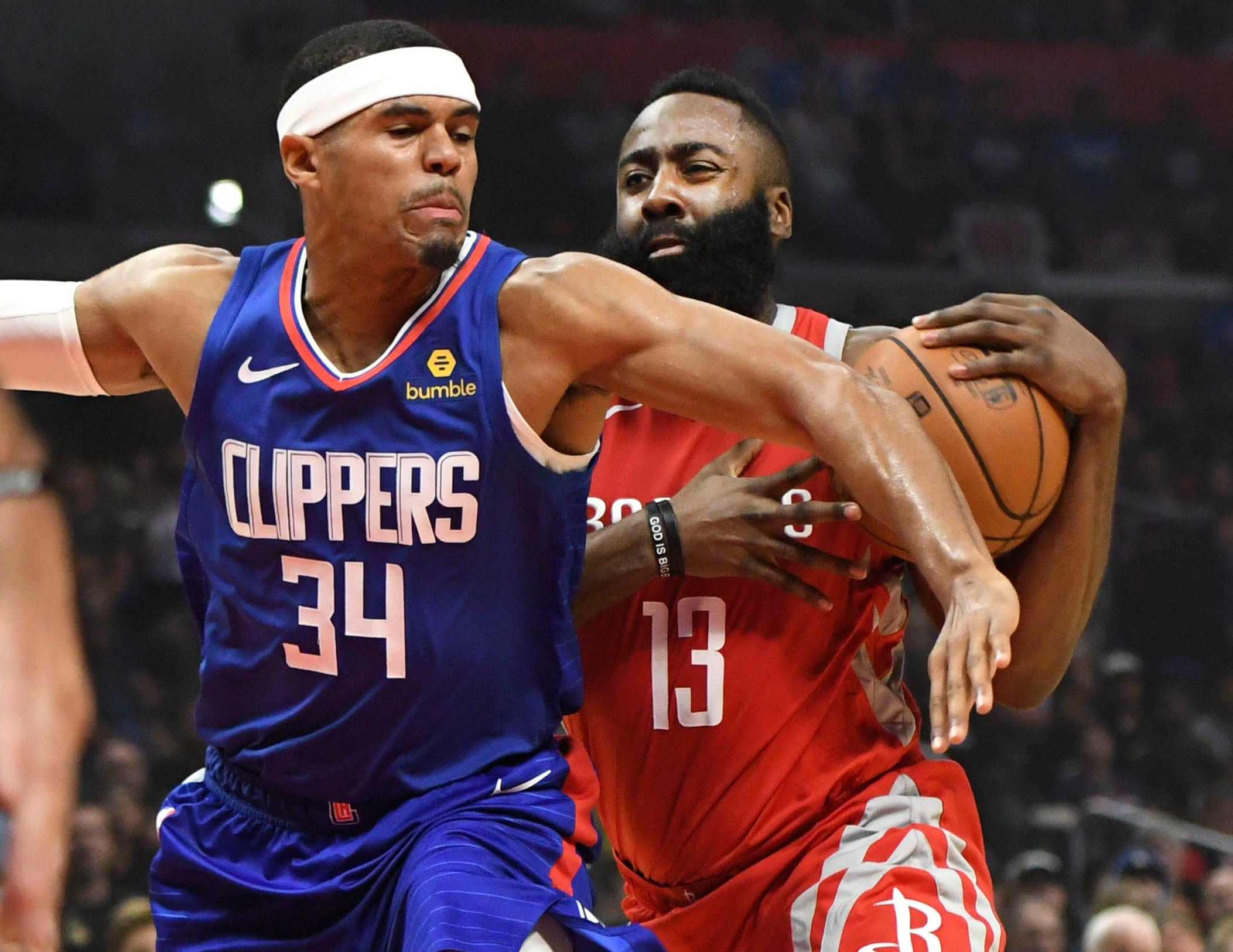 James Harden says Rockets already feeling heat as teams target Houston with tough play