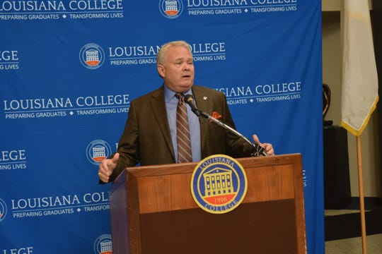 Louisiana College President Rick Brewer