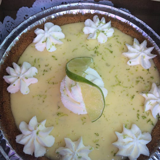 Key lime pie from Sweet Marie's Bakery, which soon will open as 502 Baking Company in Brick.