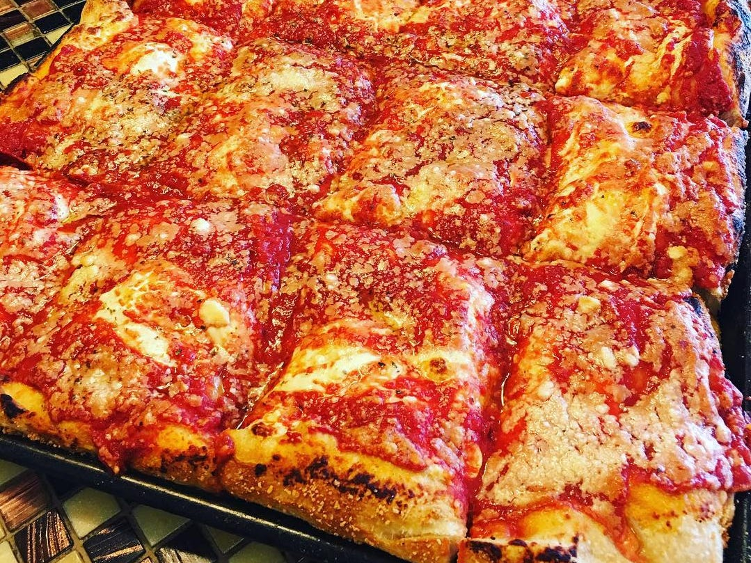 At Brooklyn Square Pizza, which opened Oct. 22 in Toms River, the signature pie is an upside-down pizza. The cheese goes on first, owner Peter Grippo said, and bakes into the crust.