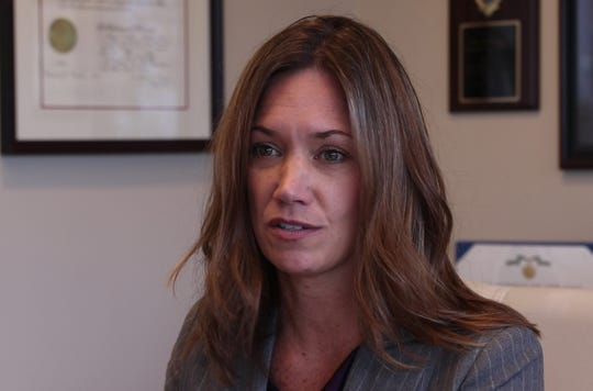 Meghan Doyle, Cold Case Unit Director, talks about unsolved cases her team is working on. The Monmouth County Prosecutor's Office has created a Cold Case Unit in an attempt to solve cases throughout the county that have not been solved over a long period of time.Freehold, NJWednesday, October, 17, 2018