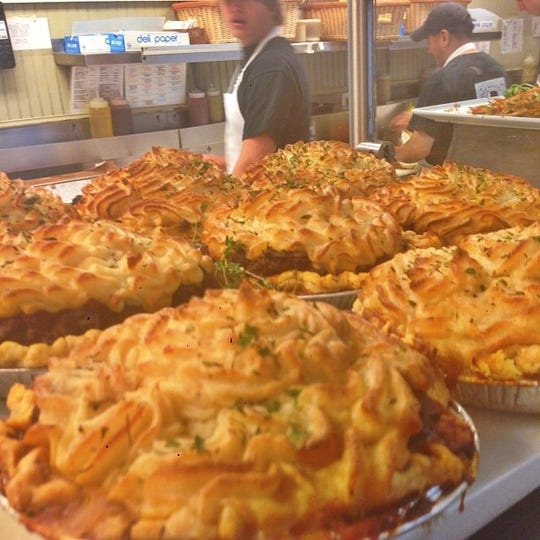 Shepherds pies at Brennan's Delicatessen in Rumson. A Middletown location will open early next year.