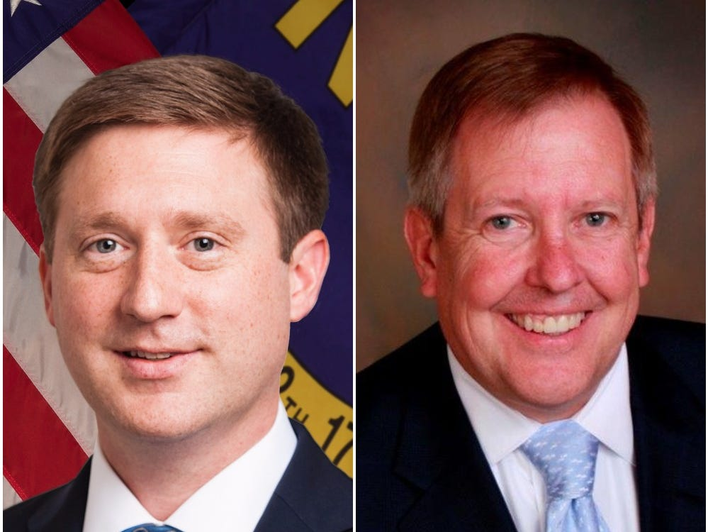 Drew Heath, John Arrowood seek Seat 1 on NC Court of Appeals