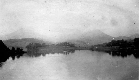 Junaluska Lake By A F Baker Unca