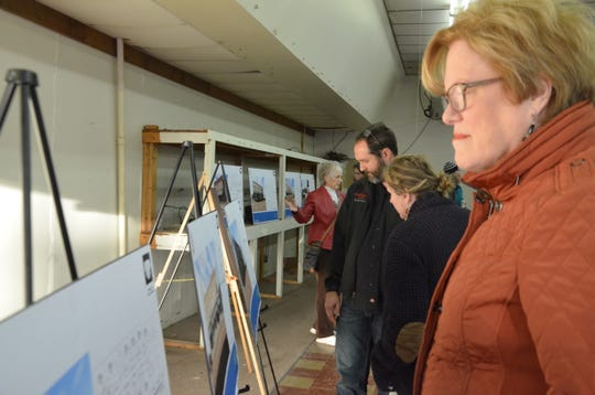 On Tuesday, Oct. 23, 2018, Albion Reinvestment Corporation held an event to present to the public renderings for its plans to redevelop 30 storefronts and 55 apartments downtown.