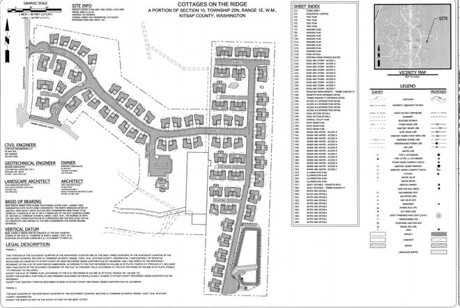 """A Tacoma company has applied for permits to build a 103-unit """"senior cottage"""" subdivision on Ridgetop Boulevard."""