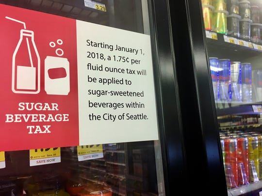 In the wake of Seattle's new tax on sugary beverages, a group backed by millions of dollars from the soda industry will ask voters in November whether to prevent other cities and counties in Washington from following suit. Under Initiative 1634, local governments would no longer be able to impose their own taxes on sodas, other sugary beverages and on food items.