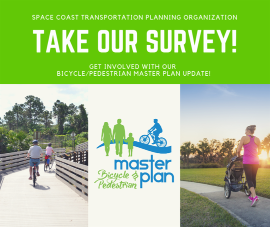 The Space Coast Transportation Planning Organization wants your thoughts on pedestrian and bicycle options in Brevard.