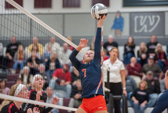 Galion's Kayla Hardy earned honorable mention All-Ohio honors.