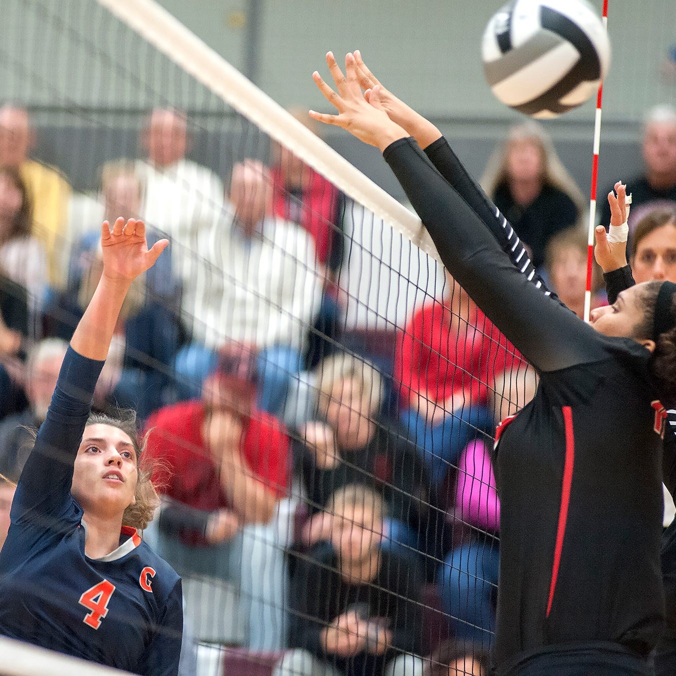 All-Telegraph-Forum volleyball second and third teams