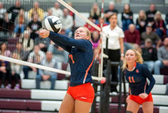 Galion's Kayla Hardy is one of the top returning volleyball players in the area in 2019.
