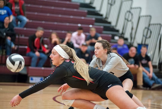 Crestview's Kenedi Goon collected 38 kills in two Lady Cougar volleyball victories last week posting 19 kills in each of those wins. She also added 10 points, 15 digs, an ace and a block in the two matches combined.