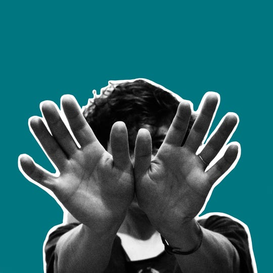 "The cover for Tune-Yards' latest album, ""I can feel you creep into my private life."""