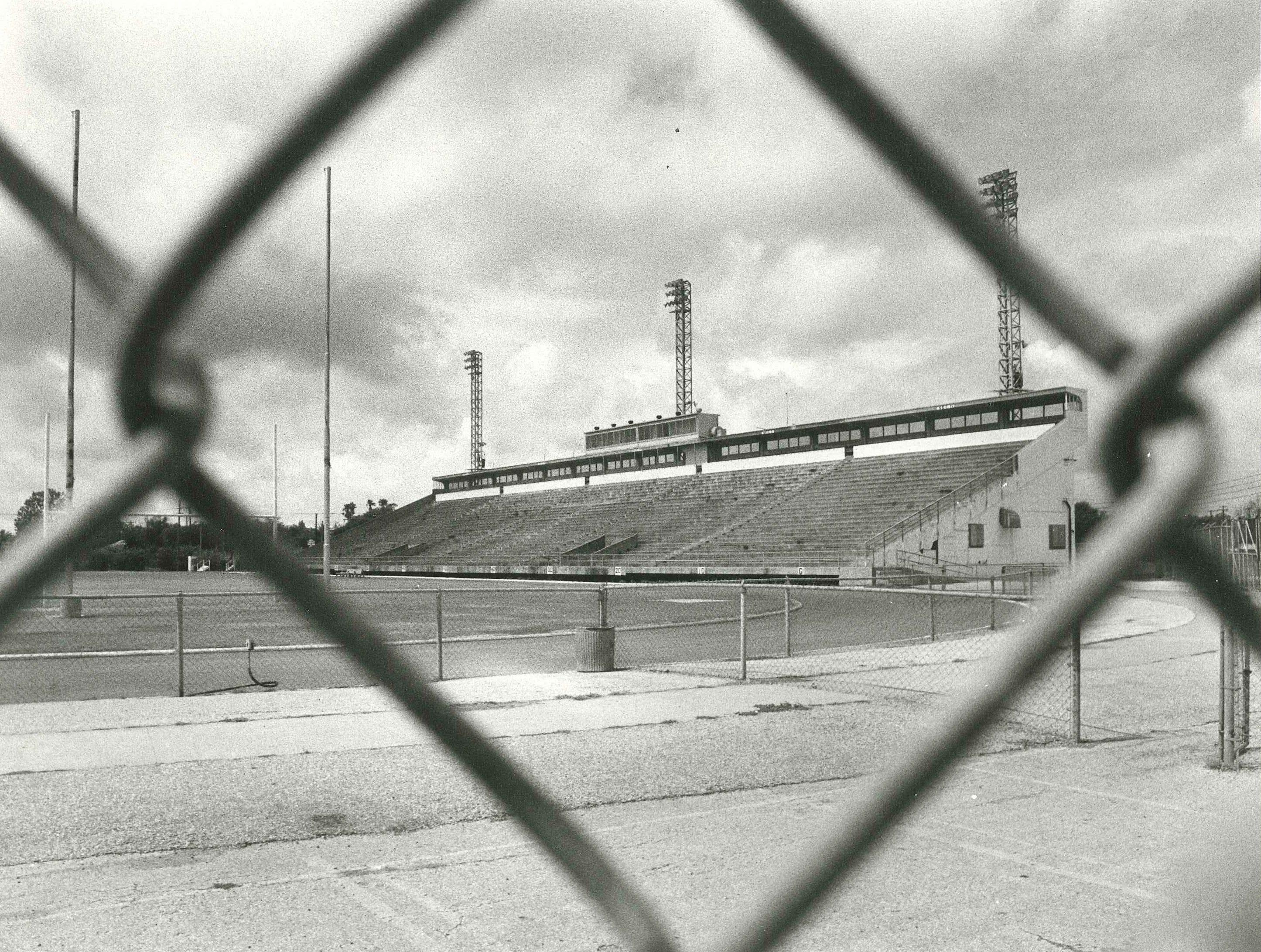 Caller-Times fileBuccaneer Stadium, 1979