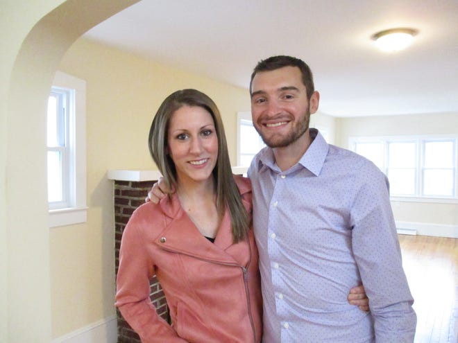 Allie Scott and Luke Albright's Camden County home search will be featured on an Oct. 30 episode of 'House Hunters.'