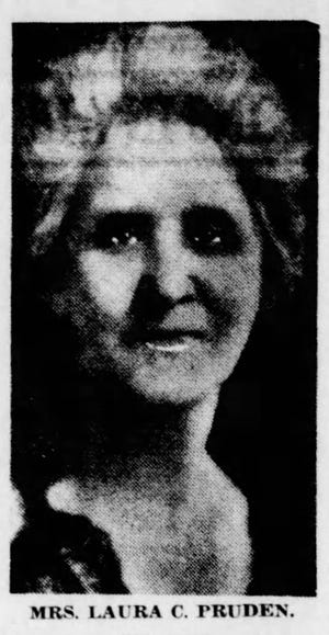 "Spiritualist and medium Laura Pruden of Price Hill was called ""one of the great mediums of the world"" by Sherlock Holmes creator Sir Arthur Conan Doyle."