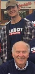 Steve Chabot, bottom, and Jack Dohrenwend