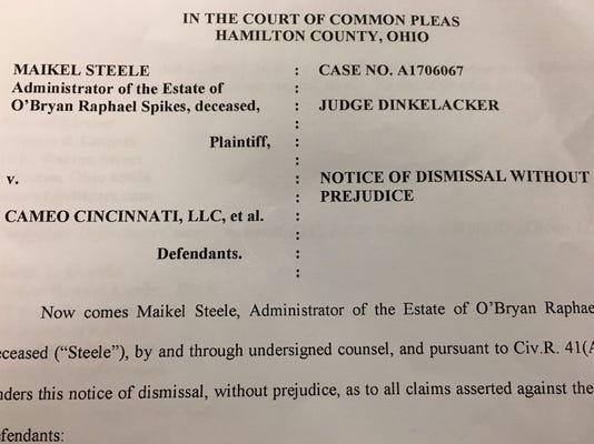 Cameo Lawsuit Dismissal