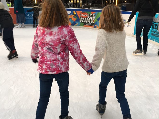 The O'Keeffe's Ice Rink at Fountain Square opens for the season on Oct. 27.
