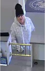 Suspected Bridgewater bank robber.