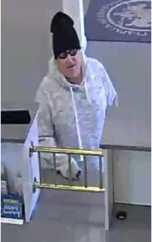 Bridgewater bank robbery suspect