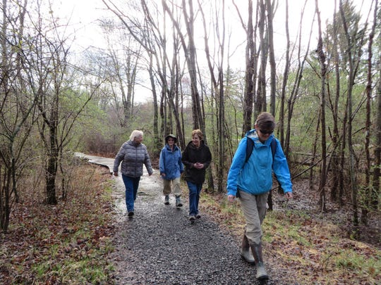 Naturalist-led Forest Fitness Walks take place fall, winter, and spring at the Environmental Education Center, 190 Lord Stirling Road in theBasking Ridge section of Bernards.