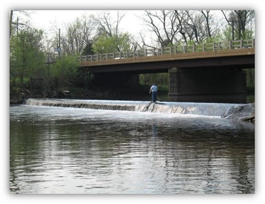 The Weston Mill Dam on the Millstone River was removed in 2017.