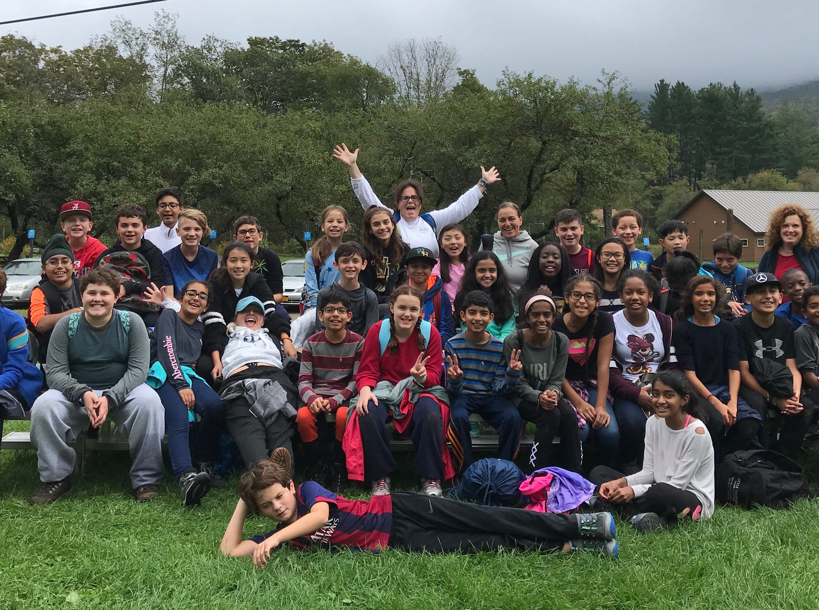 Wardlaw+Hartridge sixth graders Explore Nature in Frost Valley in Clarkyville, New York.