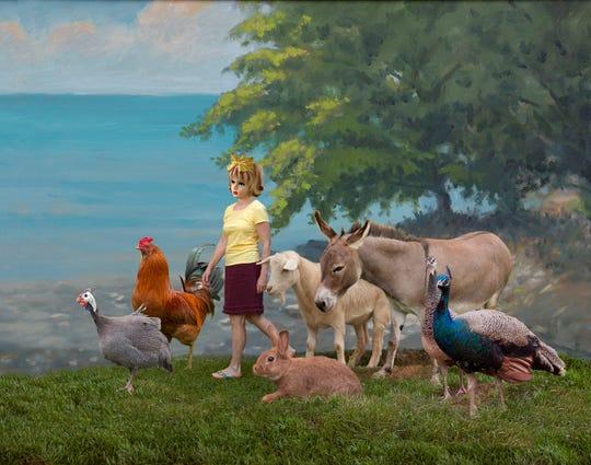 """Jill Kerwick, """"Procession,"""" (2017) archival pigment print, 20"""" x 26"""""""