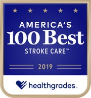 Overlook Medical Center was named one of America's 100 Best Hospitals for Stroke Care for six years in a row (2014-2019).