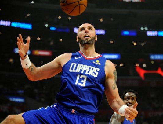 Nba Oklahoma City Thunder At Los Angeles Clippers