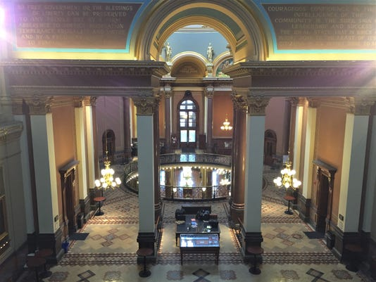 Iowa Capitol Interior