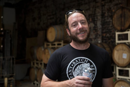 Batch Brewing Co. is working on a new location in midtown Detroit. Batch co founder Stephen Roginson gives the Free Press a tour Wednesday, Oct. 10, 2018.
