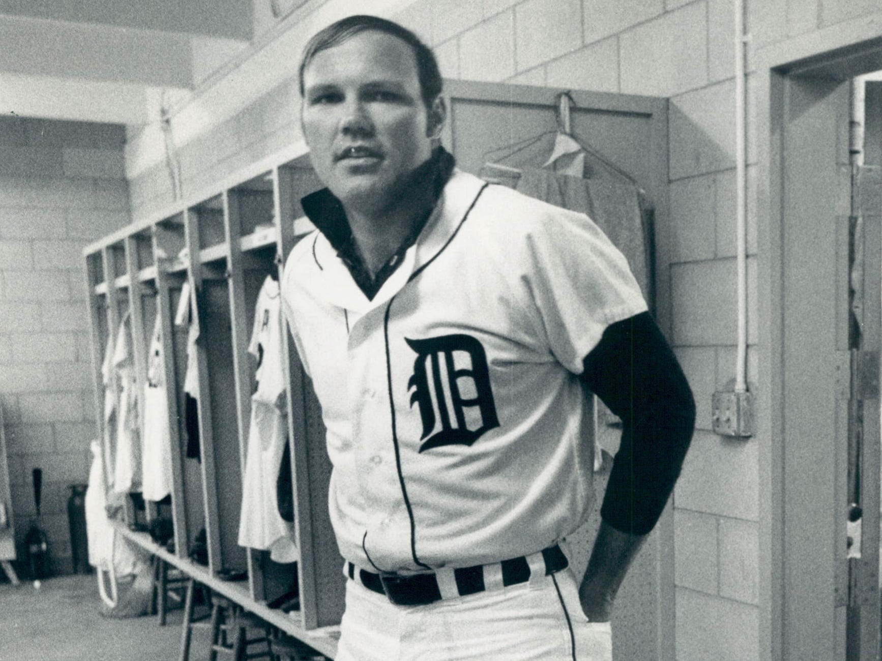 Tigers catcher Bill Freehan in the clubhouse in Lakeland, Fla., on Feb. 19, 1971.