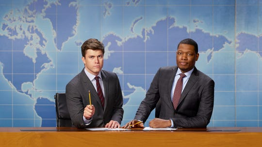 Colin Jost, Michael Che of 'Weekend Update' on 'Saturday Night Live'